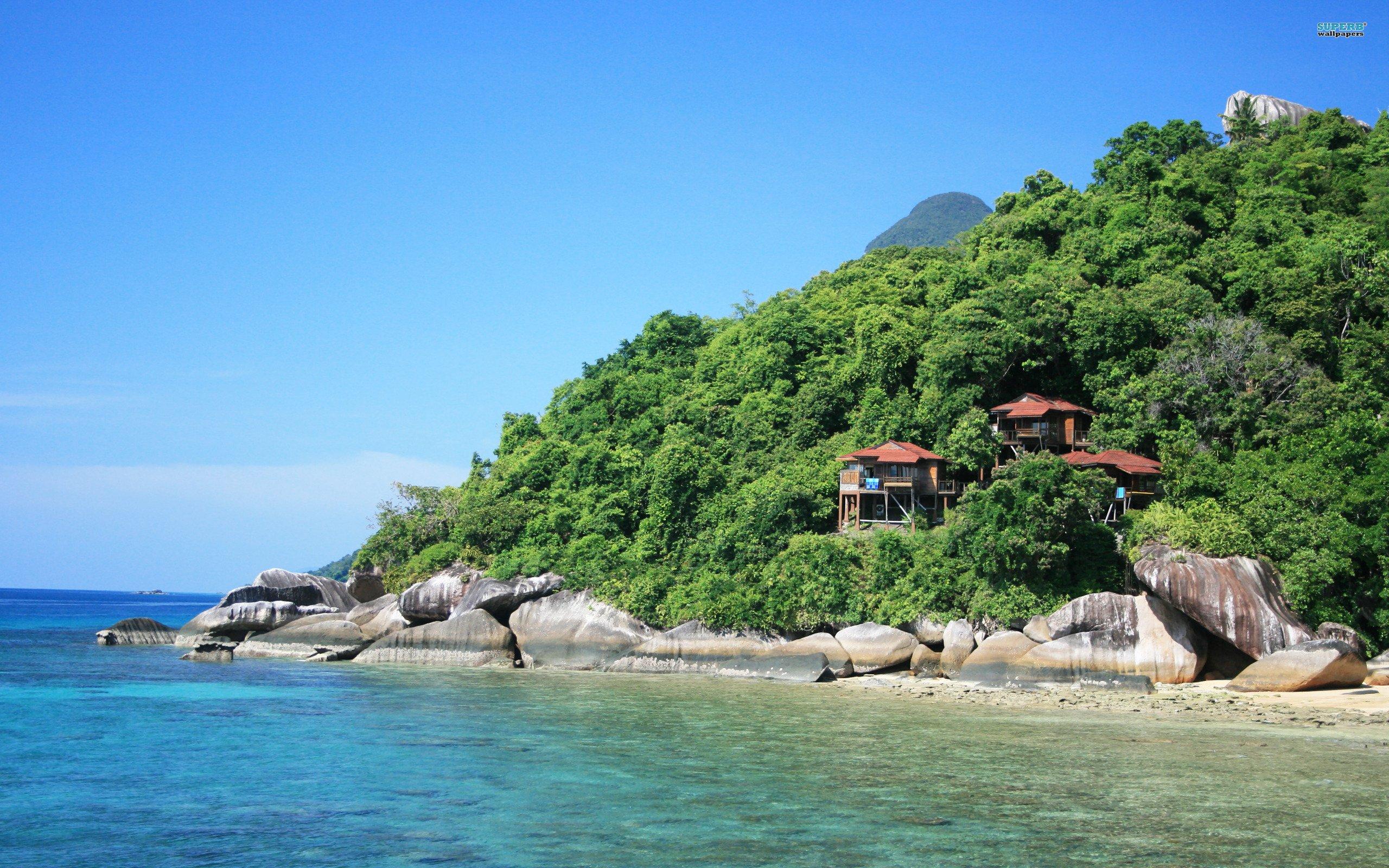 Tidung Island coast, Singapore